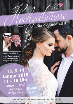 Hochzeitsmesse Winsen,Hochzeit in Lüneburg, Hochzeitsmesse Embsen